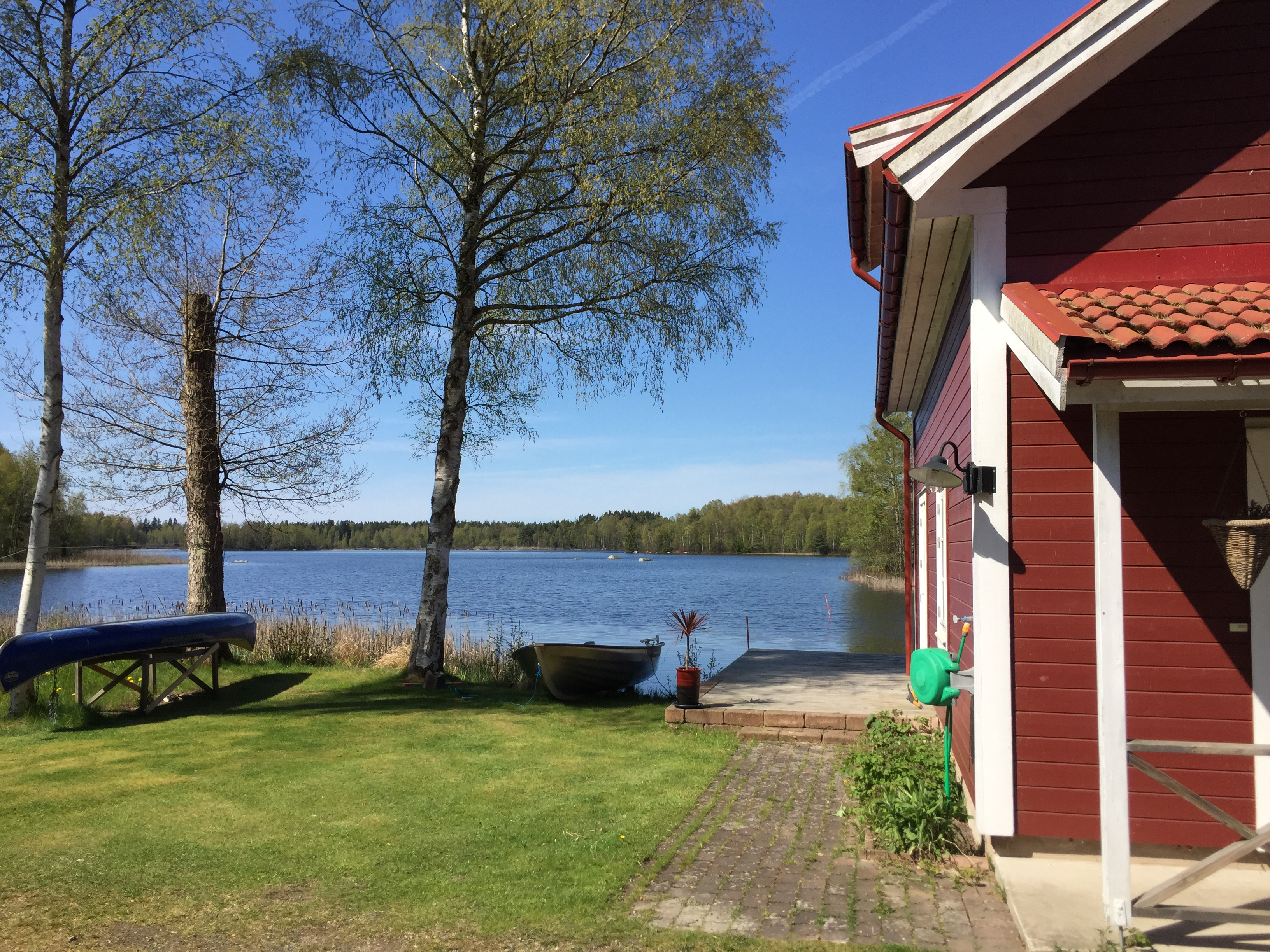 Ferienhaus Idala - Blick auf den Hönshyltefjorden