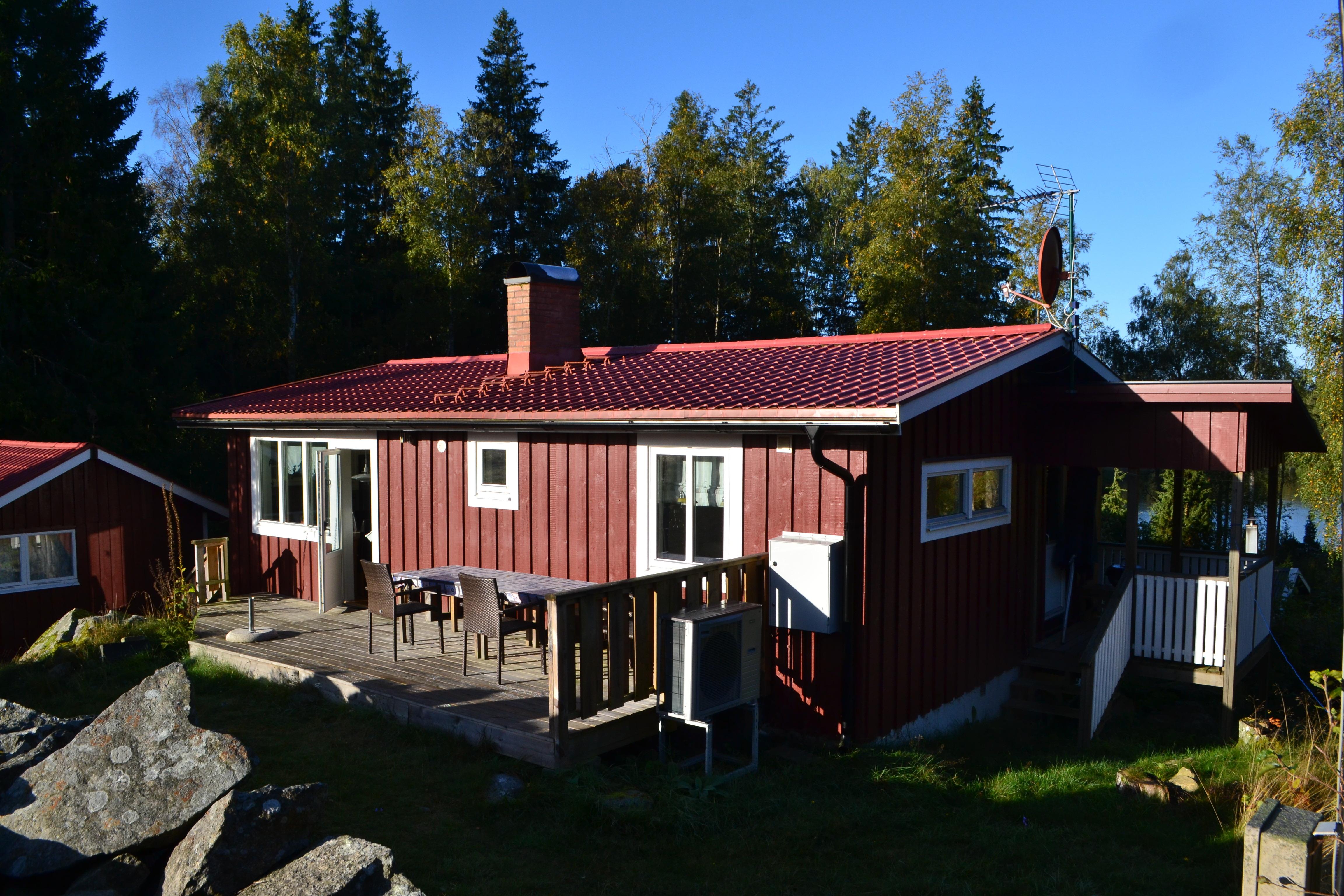 Ferienhaus Elsemala Kullabo - Außenansicht