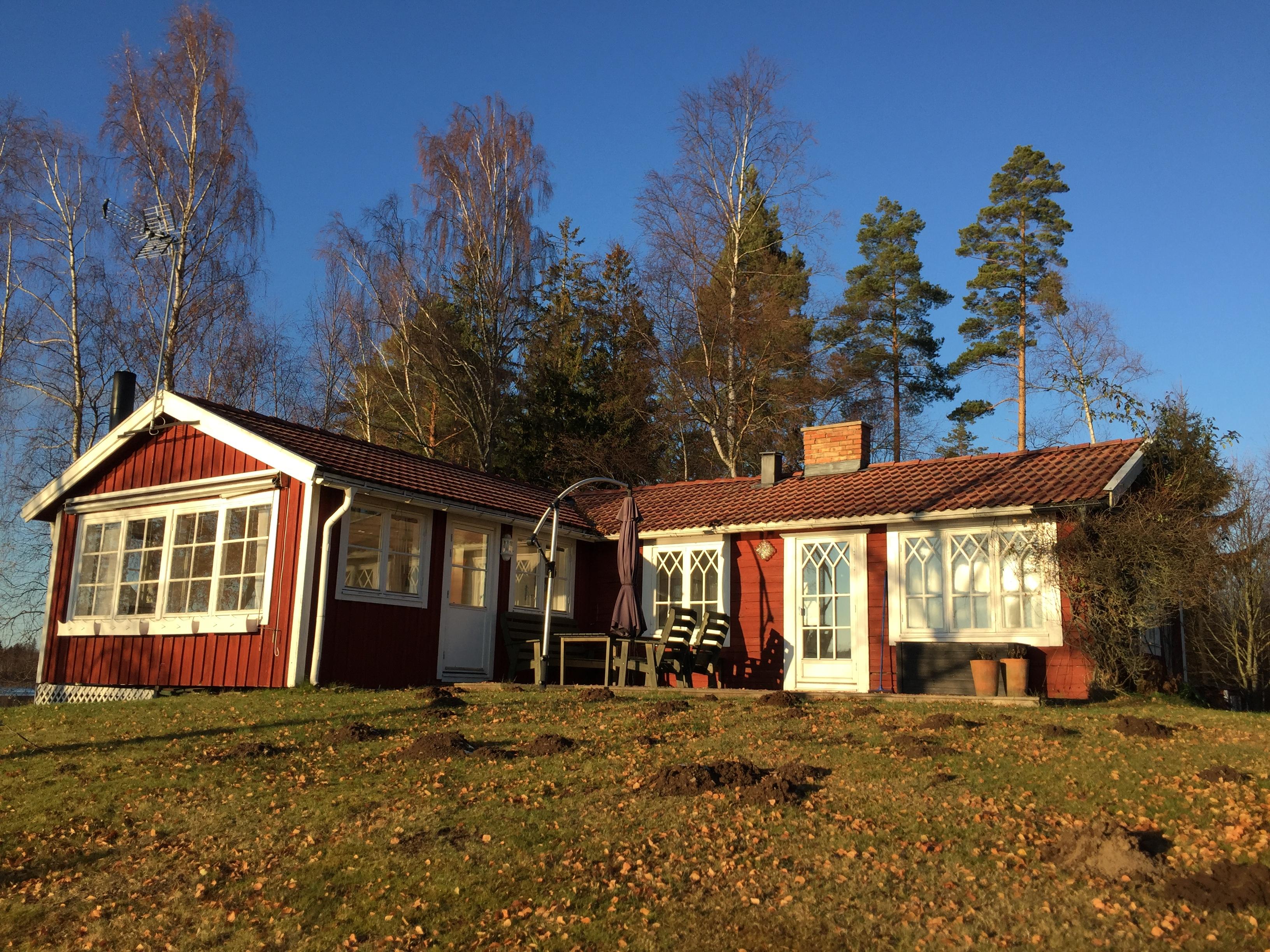 Ferienhaus Möckleryd - Außenansicht